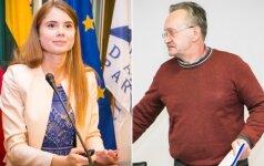 Ieva Kačinskaitė-Urbonienė ir Algirdas Klimavičius