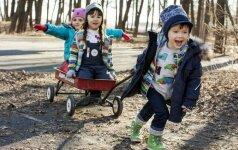 Geriausias būdas rengti vaiką: nei sušals, nei sukais