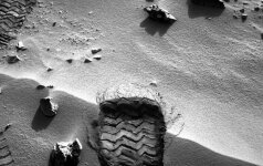 Curiosity zondo nuotrauka