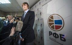 A. Kirilenka dar ketverius metus vadovaus Rusijos krepšiniui – prieš buvo tik vienas žmogus