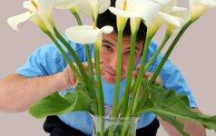 Ką apie vyrą sako jo dovanojamos gėlės?