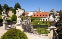 Verta aplankyti: gražiausias barokinio stiliaus sodas Prahoje