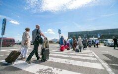 Pernai užsieniečių kelionių su nakvyne padaugėjo 10,8 proc.