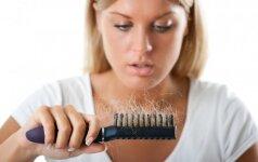 Plaukų slinkimas – kaip su tuo kovoti?
