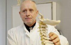 Dėl stuburo gydymo nesutaria ir patys specialistai