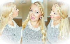 Stilistė Gražina pataria, kaip pasidaryti proginę šukuoseną, kuri sužavės aplinkinius VIDEO
