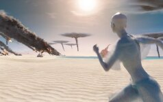 Kadras iš filmo Valerianas ir Tūkstančio planetų miestas