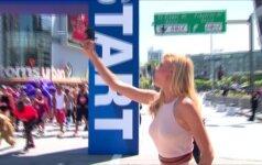 Gelbėtojų garbei surengtas neįprastas maratonas: bėk kuo lėčiau