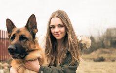 """Šunų vedlė Julia: """"Jei būčiau paklausiusi tėvų – nebūčiau tiek pasiekusi"""""""