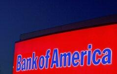 """""""Bank of America"""" renkasi Dubliną kaip ES centrą savo veiklai"""