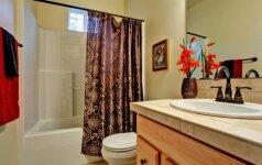 9 puikios idėjos mažam vonios kambariui: patarimai, kaip vizualiai išplėsti erdvę
