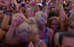 MTV sala Maltoje - gyvas muzikos šou po atviru dangumi