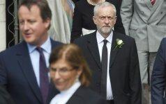 Įtampa Didžiosios Britanijos parlamente – Leiboristų partijoje bręsta perversmas