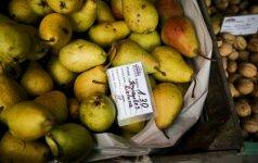 Turguose mąžta prekyba kiaušiniais, o vaisiai tapo itin paklausūs