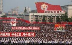 Japonija, JAV ir Pietų Korėja darys didesnį spaudimą Šiaurės Korėjai