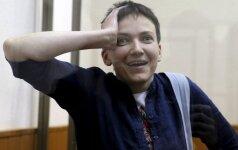 N. Savčenko apkeitimas įvyko, ji parskrenda į Ukrainą