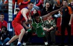 K. Langfordas siautėjo Maskvoje, bet pergalei prieš CSKA to neužteko
