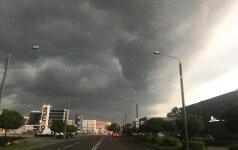 Orai: geros dienos baigiasi