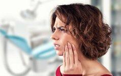 Kaip greitai ir efektyviai numalšinti danties skausmą