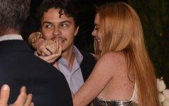 Lindsay Lohan ir Jegoras Tarabasovas