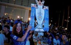 """Svajonė išsipildė: Londono klubų lygiosios karūnavo """"Leicester"""" ekipą Anglijos čempione!"""
