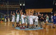 Lietuvos krepšininkai tęsia pergalingą žygį kurčiųjų olimpinėse žaidynėse
