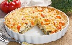 Vištienos ir daržovių pyragas