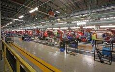 Automobilių gamintojai su nerimu laukia ketvirtadienio