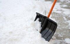 Kaip išsirinkti tinkamiausią sniego kastuvą?