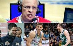"""V. Gomelskis: M. Kalnietis į NBA neprasimuš, A. Milaknis man nepatinka, o A. Gudaičio vieta – """"Spurs"""""""