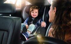 Specialisto patarimai, kaip išsirinkti automobilinę kėdutę