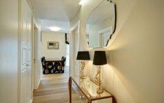76 kv.m. modernios klasikos butas, kuriame beveik visi baldai iš Anglijos