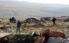 """Rusija ragina nustatyti """"tylos režimą"""" Sirijos Darajoje ir Rytų Gutoje"""