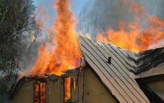 Apsaugokite savo namus nuo gaisro