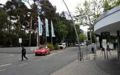 Pietinis įėjimas į Siemens kampusą - Makso Plankas