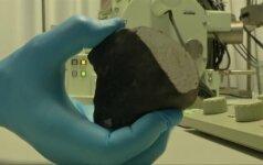 Netoli Amsterdamo rastas meteoritas