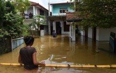 Potvynis Šri Lankoje