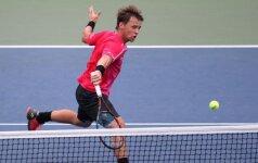 R. Berankis ATP reitinge prarado septynias pozicijas, L. Grigelis pakilo