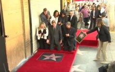 Holivudo Šlovės alėjoje atsirado H. Laurie žvaigždė