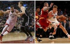 Efektinga NBA savaitėlė: lietuviškas kvartetas groja kaip iš natų