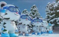 Reklaminiame filmuke pristatytas Žiemos olimpinių žaidynių talismanas
