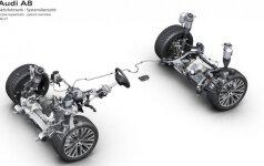 Audi A8 aktyvioji pakaba
