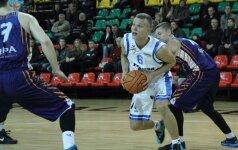 """NKL čempionate """"Palangos"""" krepšininkai įveikė """"JAZZ-Diremtą"""""""