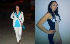 29 metų Alma: atsikračiau 20 kg ir šiandien atrodau lyg 18-metė Pasikeitimų FOTO