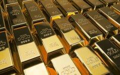 Krinta aukso kainos