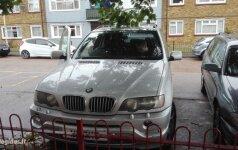 Iš lietuvio latviai nušvilpė BMW: tiems banditams nusiunčiau žinutę, kad juos greitai sučiups
