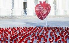 Pagerbti organų donorai ir gydytojai reanimatologai