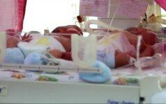 Ukrainiečių porai gimė penketukas