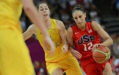 Pasaulio čempionatas: JAV krepšininkės tik ketvirtame kėlinyje palaužė serbes