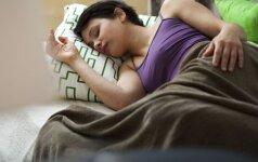 Kokie produktai kalti dėl mieguistumo